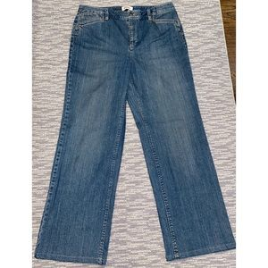 •Talbots• Denim Bootcut Trousers